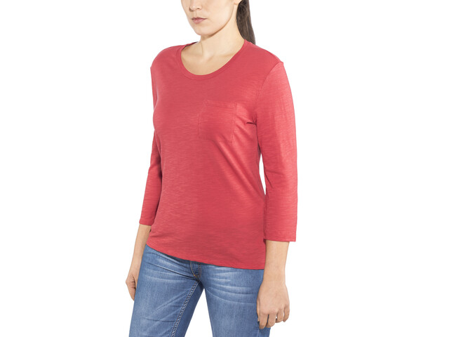 Patagonia W's Mainstay 3/4 Sleeved Top Static Red